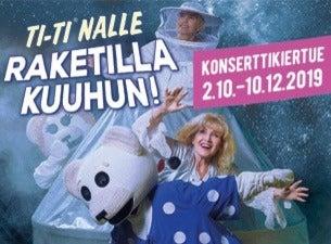 Ti-Ti Nalle, Raketilla kuuhun -konsertti