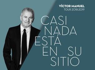 Victor Manuel - Gira Casi Nada Está en su Sitio
