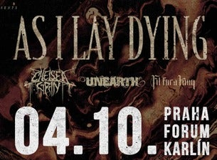 AS I LAY DYING + CHELSEA GRIN + UNEARTH + FIT FOR A KING