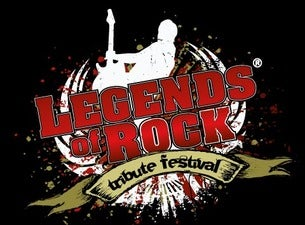 Legends of rock tribute tour