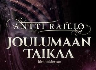 ANTTI RAILIO: JOULUMAAN TAIKAA -KIRKKOKIERTUE
