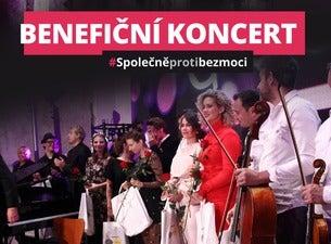 Benefiční koncert #SPOLEČNĚPROTIBEZMOCI