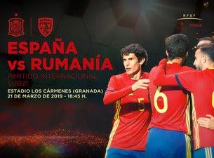 España vs Rumanía - Partido Internacional SUB21