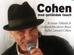 Cohen med Gotländsk touch