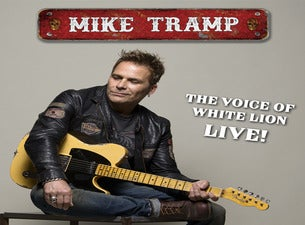 "Mike Tramp ""La voz de White Lion"""