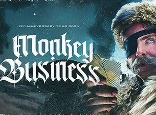 Monkey Business 20. let tour 2020