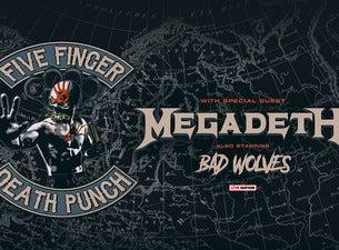 Five Finger Death Punch + Megadeth
