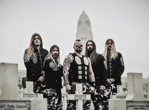 "SABATON + supports ""The Great Tour"""