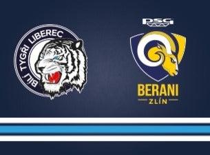 Bílí Tygři Liberec - PSG Berani Zlín