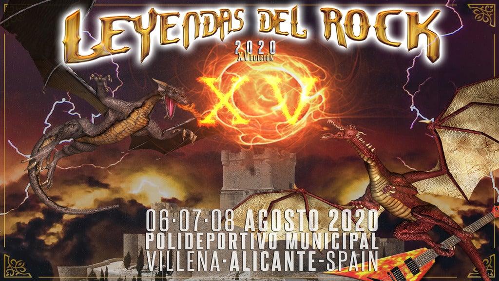 Leyendas del Rock Festival 2020