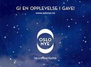 Gavekort for Oslo Nye Teater