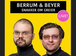 Berrum og Beyer snakker om greier