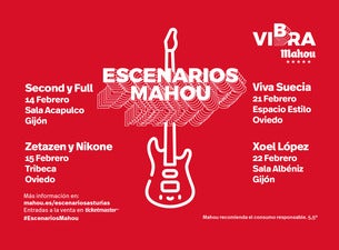 Escenarios Mahou Asturias