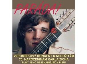 Vzpomínkový koncert k nedožitým 70. narozeninám Karla Zicha