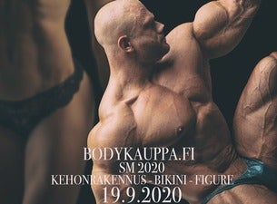 Bodykauppa.fi Kehonrakennuksen SM-kilpailut 2020