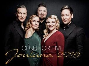 Club For Five: Jouluna 2019