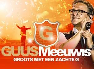 Guus Meeuwis Groots met een Zachte G 2018