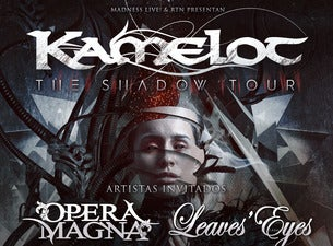 Kamelot + Opera Magna + Leaves' Eyes