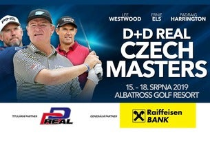 D+D REAL Czech Masters 2019 - golf
