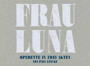 Frau Luna - Operette in zwei Akten