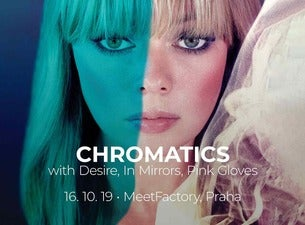 Chromatics – Double Exposure Tour with Desire, Pink Gloves