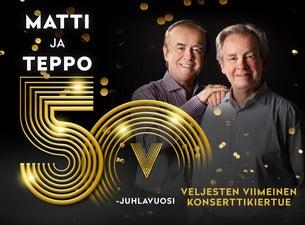 Matti ja Teppo - Viimeinen konserttikiertue