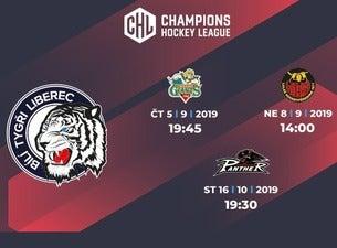 Bílí Tygři Liberec - Champions Hockey League