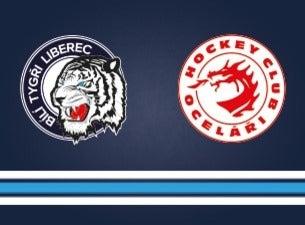 Bílí Tygři Liberec - HC Oceláři Třinec
