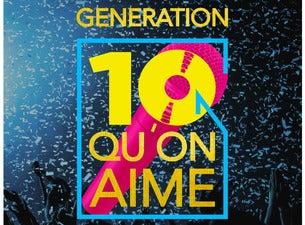 Génération 10 qu'on aime