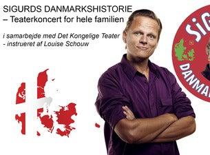 Sigurds Danmarkshistorie - Teaterkoncert for hele familien