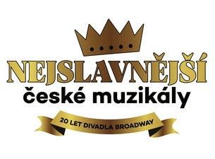 Nejslavnější české muzikály - 20 let divadla Broadway