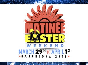 Matinee Easter Weekend