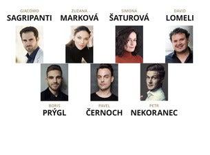 Hvězdy světové opery - Marková, Šaturová, Černoch, Nekoranec, Prýgl
