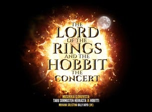 THE LORD OF THE RINGS AND THE HOBBIT -KONSERTTI
