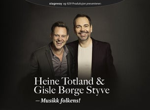 Heine Totland og Gisle Børge Styve