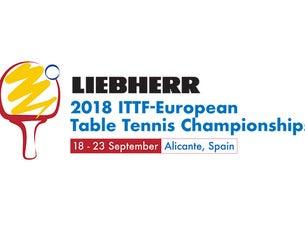 LIEBHERR 2018-ITTF European Table Tennis Championships