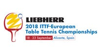 Abono - LIEBHERR 2018-ITTF European Table Tennis Championships