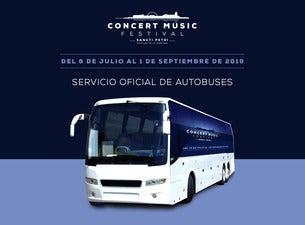 Servicio de Autobús - Concert Music Festival