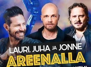 LAURI, JUHA JA JONNE AREENALLA -SHOW