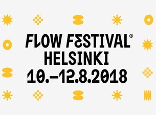 Flow Festival 2018 - 2 day tickets