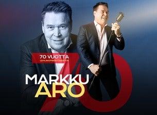 Markku Aro - 70-vuotisjuhlakiertue