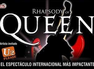 Rhapsody Of Queen + Artista Invitado : U2 Please