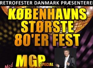Retro Fester - KÆMPE 80'ER FEST