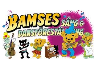 Bamses sång och dansföreställning