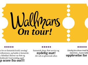 Wallmans On Tour