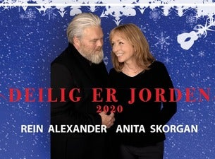 Årets Julekonsert - Deilig er jorden. Anita Skorgan og Rein Alexander