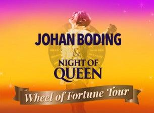 JOHAN BODING & NIGHT OF QUEEN