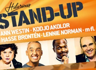 Hilarious Stand-up med Lennie Norman
