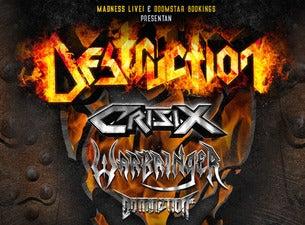 Destruction + Crisix + Warbringer