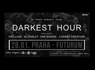 Darkest hour, Fallujah, Bloodlet, Une misere, Lowest creature